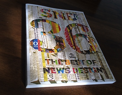 Society for News Design book cover BTS