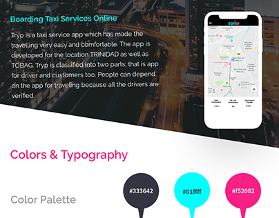 Taxi App| Tryp | Case Study