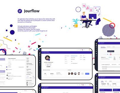 Jourflow - a Workflow App for Freelances