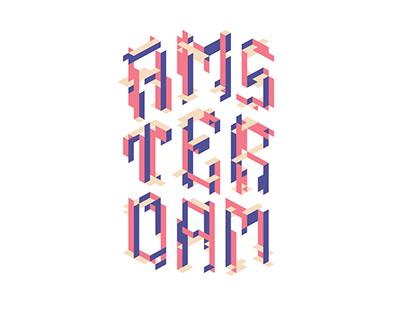 Amsterdam poster design
