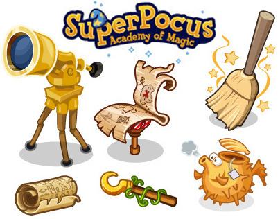 SuperPocus Game Art
