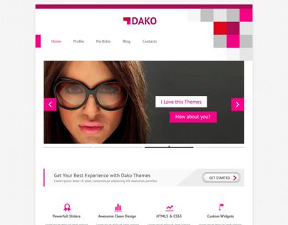 Corporate Web Design - DAKO