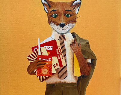 Fantastic Mr Fox Projects Photos Videos Logos Illustrations And Branding On Behance