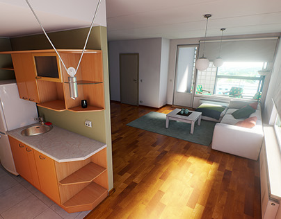 Estonian Apartment (realtime)