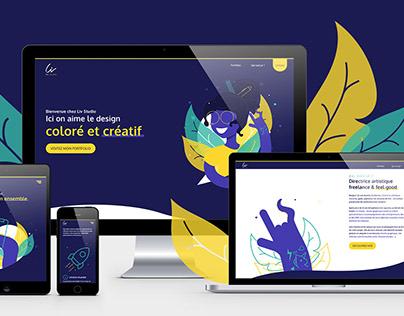 LIV STUDIO - Branding / Illustration / UX-UI Design...
