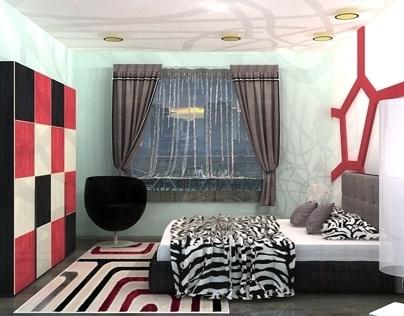 Modern Bedroom/Vray/3dmax/ 2013