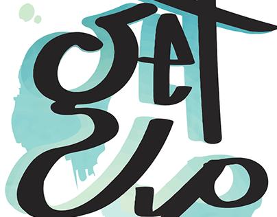 'Get Up' Street Art