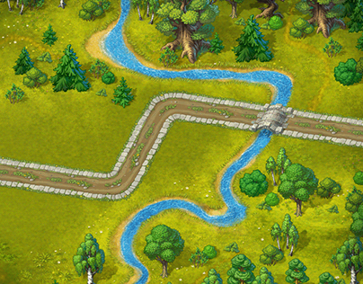 Game: Green City (Backgrounds)