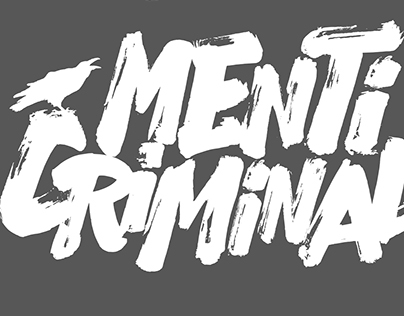 Menti Criminali word-logo 2016