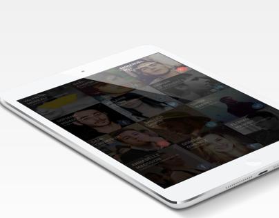 iPad mini Chat App