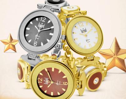 Anúncio Relógios Dumont