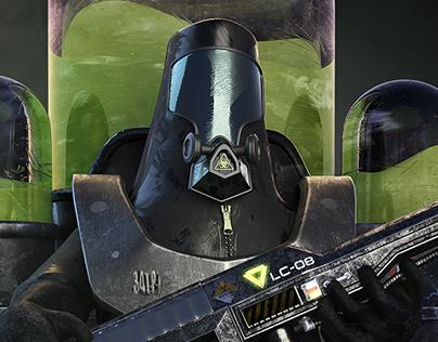Biohazard Warrior