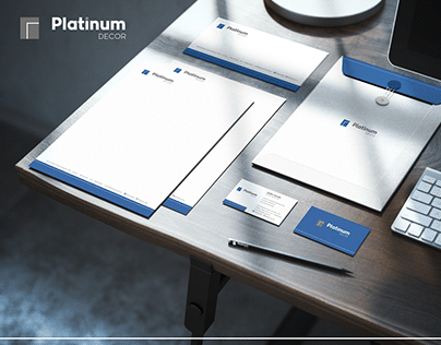 Marca e Papelaria - Platinum Decor