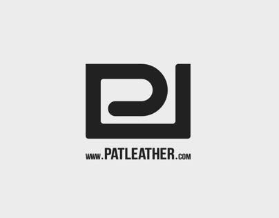 PAT LEATHER - logo design