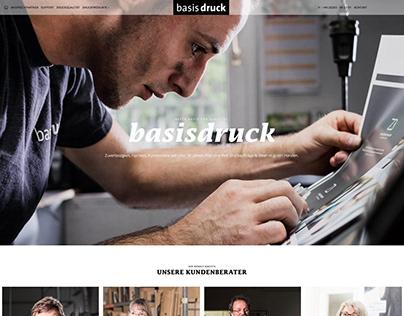 Website für Basis-Druck
