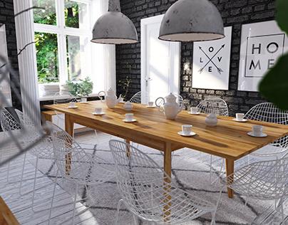 Jadalnia / Dining Room - Bianco Collection