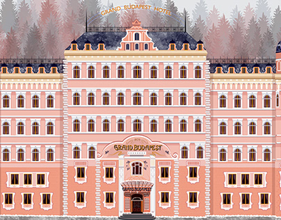 Grand Budapest Hotel Animations