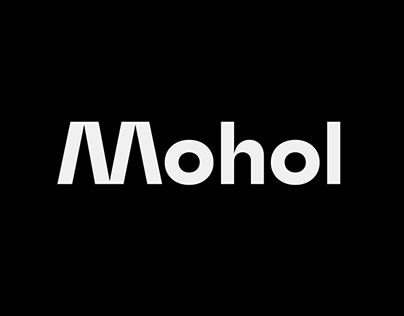 Mohol custom typeface