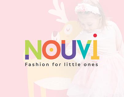 NOUVI Logo Design