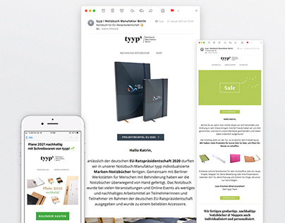 tyyp – E-Mail-Newsletter