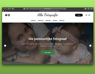 Photographer's website