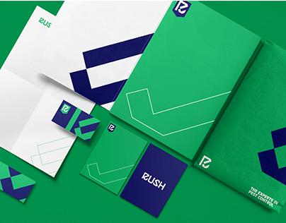 Rush Brand Identity Design.