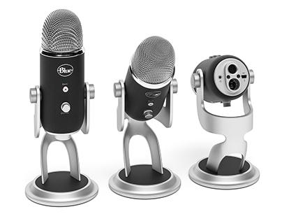 Microphone Blue Yeti Pro 3d model