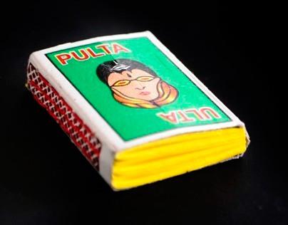 Upcycled Tetrapak & Matchbox Notebooks
