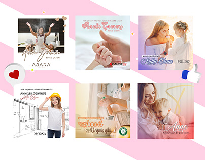 Mothers Day (Anneler Günü) | Social Media Design