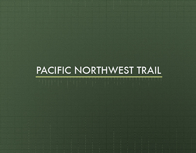 Pacific Northwest Trail - Infographic