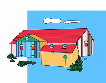 Happy Red Farm
