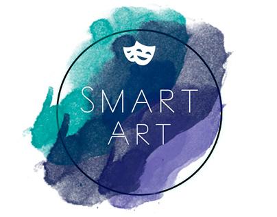 """logo creation for a creative center """"SmartArt"""""""