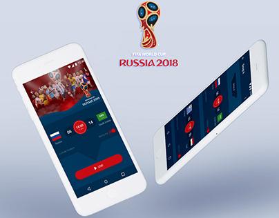 FIFA World Cup 2018 App