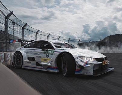 BMW M4 DTM | FULL CGI