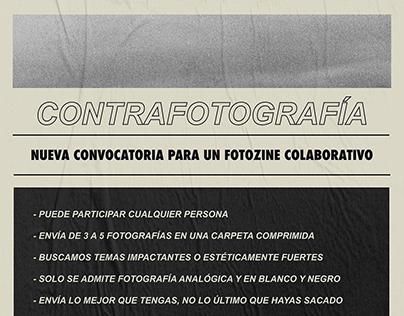 Cartel para Contrafotografía