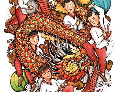 MÚA RỒNG - Dragon Dance