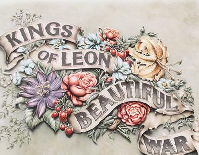 The Making of Kings of Leon 'Beautiful War' Artwork