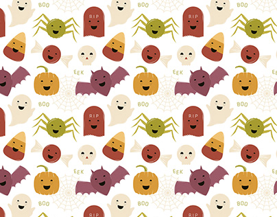 Halloween Character Pattern