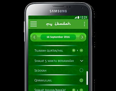 Mobile Apps for remindering prayer