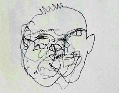 Sketchbook: Continuous Contour