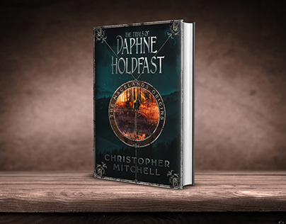 The Trials of Daphne Holdfast book cover design