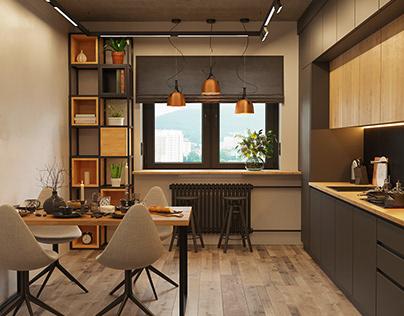 Квартира 67 кв.м. в ЖК «Изумруд»