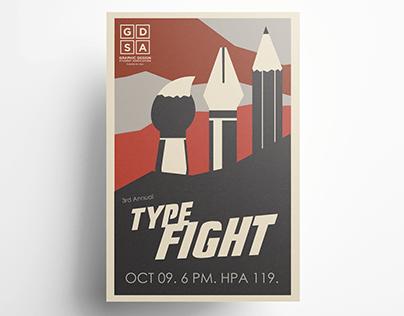 Typefight - Event Branding