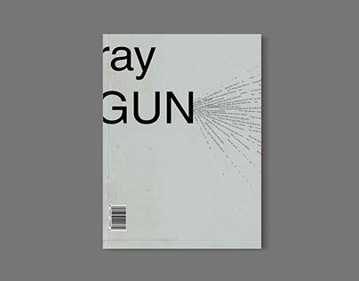 Ray Gun Magazine Cover