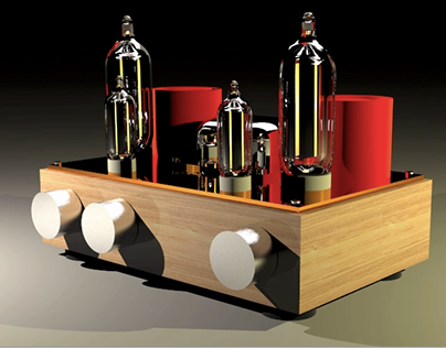 Conceptual model of a Valve Power Amp