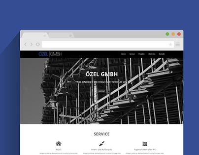 Webdesign - Trockenbau Unternehmen