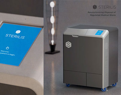 Sterilis Device - 3D Renderings