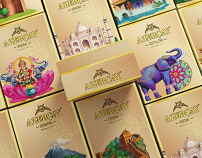 Azərçay tea   World collection