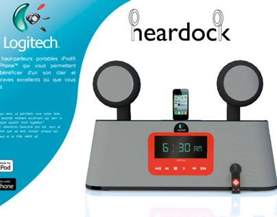 "Logitech ""Heardock"" Docking Station - Station d'acceuil"