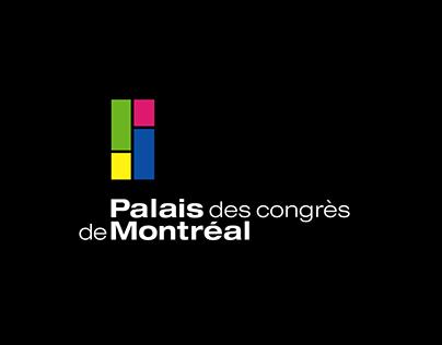 Palais des congrès de Montréal - Carte de Noël